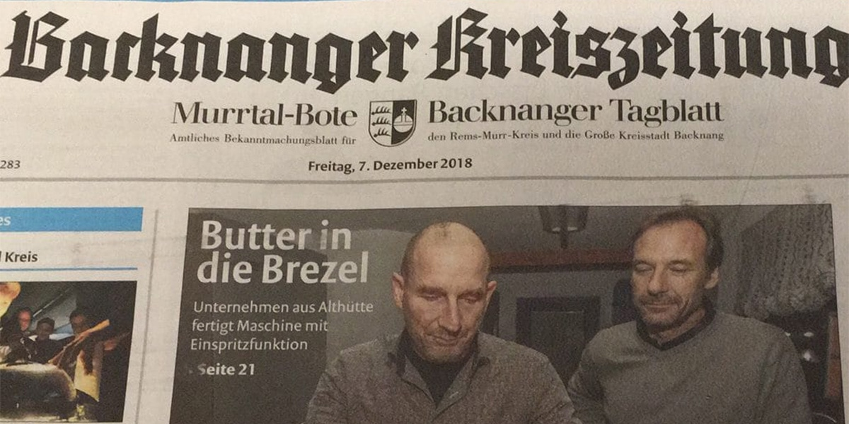 MFDO_News_Bericht_Butterbrezelmaschine_BBM25_Backnanger_Kreiszeitung